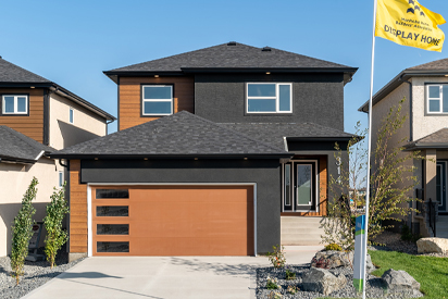 Exterior - 314 Tanager Trail The Avalon DG 15 A Broadview Homes Winnipeg