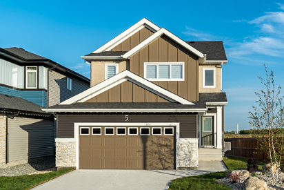 Exterior - 5 Orion The Atwood DG 45 A Broadview Homes Winnipeg