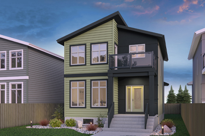 RG 106 D with Balcony - The Torres Broadview Homes Winnipeg