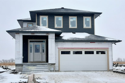 Front Exterior - 300 Windflower The Biscayne DG 14 C Broadview Homes Winnipeg