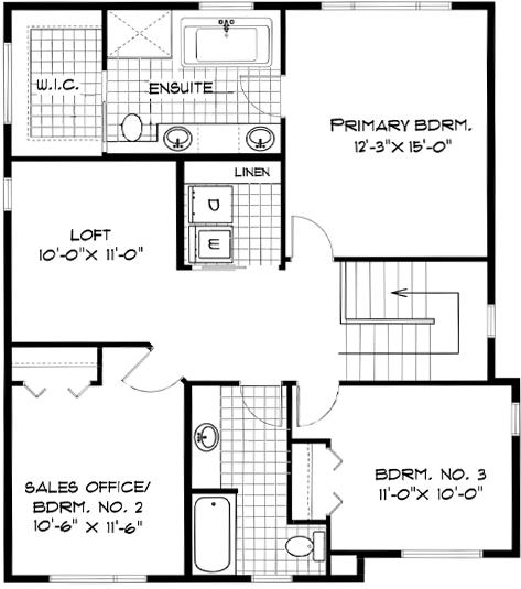 Second-Floor-Plan-139-Middlechurch-Gate-Broadview-Homes-Winnipeg