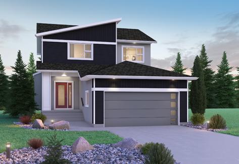 DG 15 B Avalon 2-storey home with vinyl Broadview Homes Winnipeg
