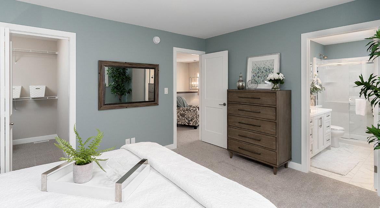 22. Master Bedroom - 63 Crestmont Drive The Harlow DG 17 A Broadview Homes Winnipeg