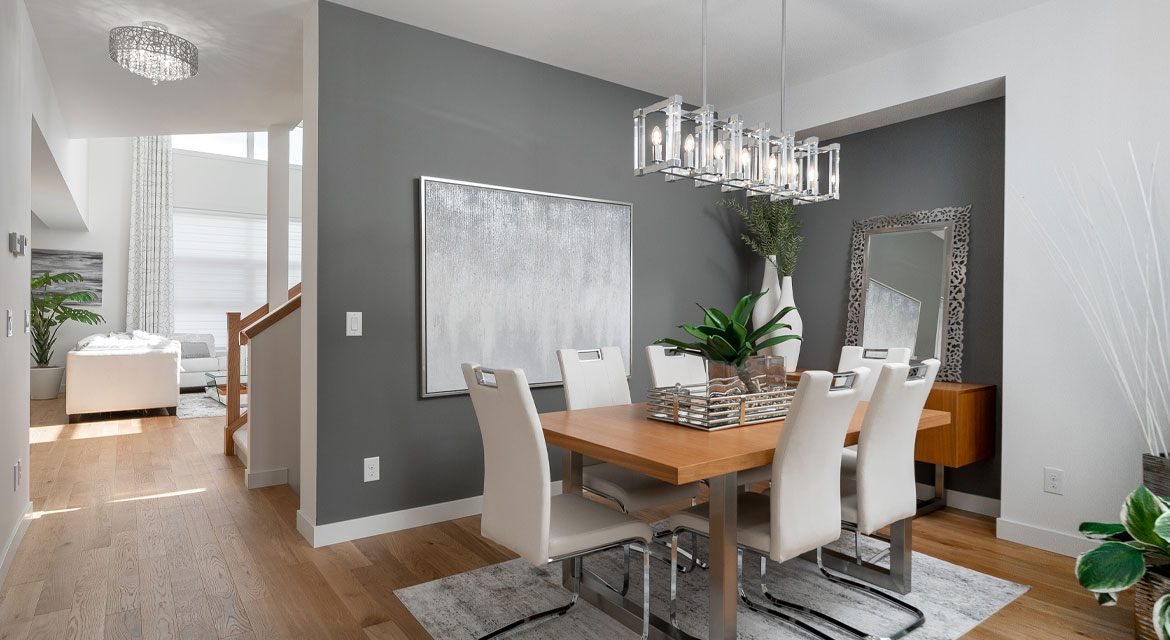 5. Dining Room - 15 High Park Drive - The Monticello DG 16 H Broadview Homes Winnipeg