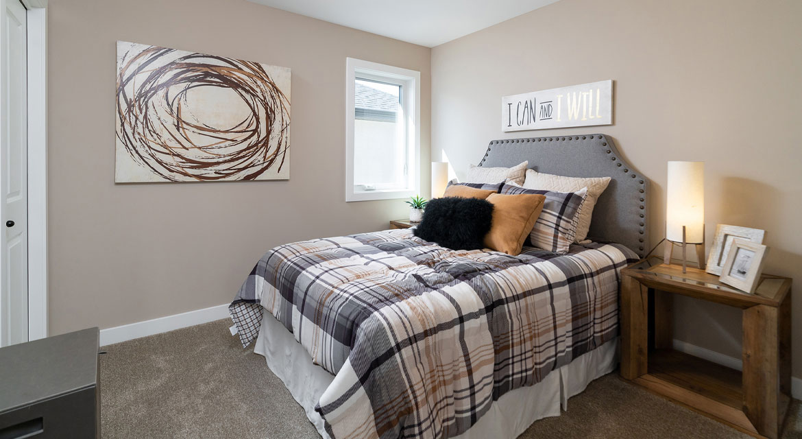 10. Secondary Bedroom - 314 Tanager Trail The Avalon DG 15 A Broadview Homes Winnipeg