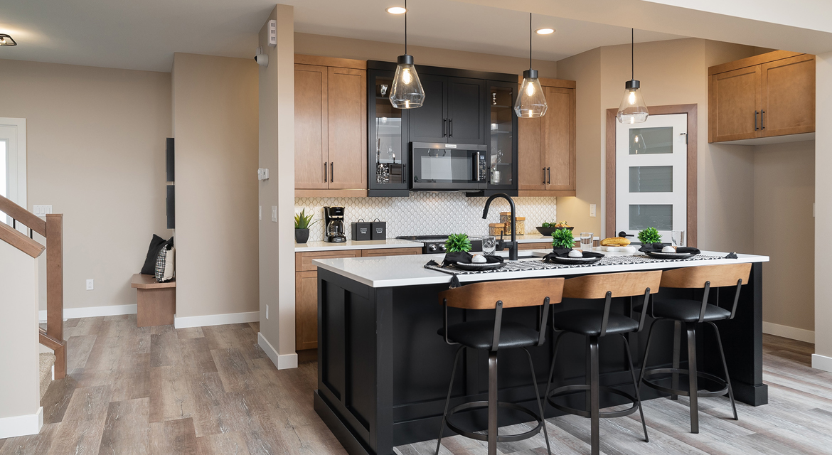 3. Kitchen - 314 Tanager Trail The Avalon DG 15 A Broadview Homes Winnipeg