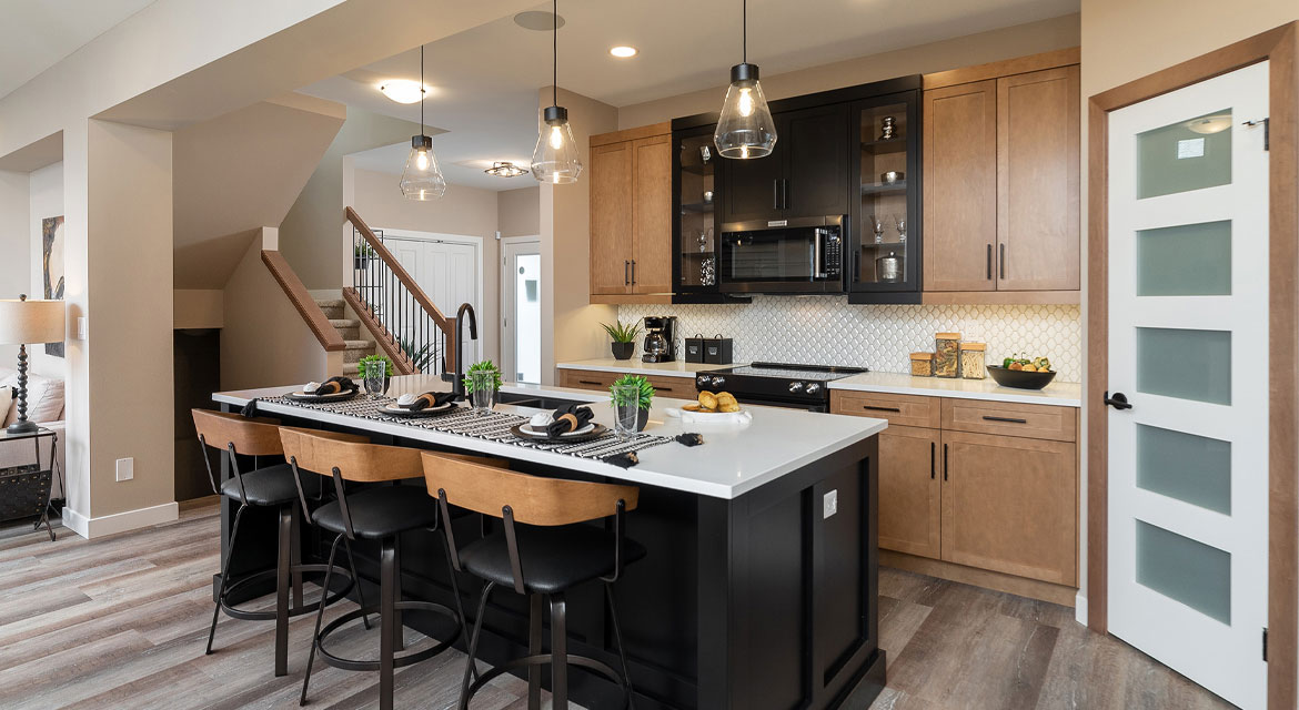 4. Kitchen - 314 Tanager Trail The Avalon DG 15 A Broadview Homes Winnipeg