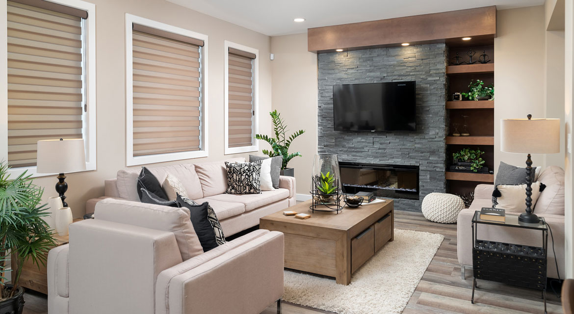 5. Great Room - 314 Tanager Trail The Avalon DG 15 A Broadview Homes Winnipeg