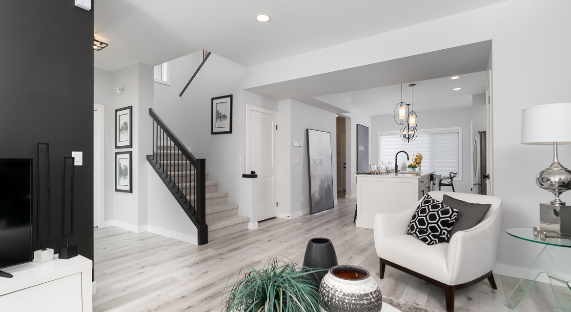5. Great Room - 326 Tanager The Torres RG 106 D Broadview Homes Winnipeg