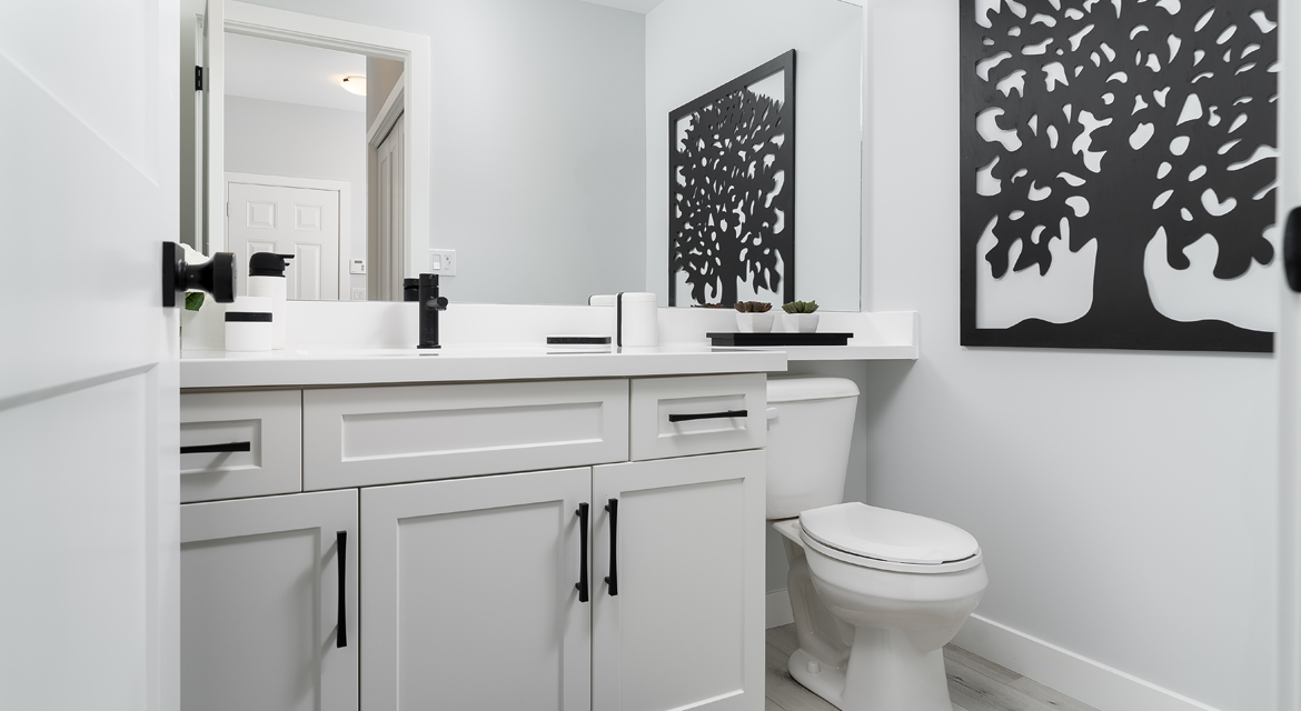 9. Powder Room - 326 Tanager The Torres RG 106 D Broadview Homes Winnipeg