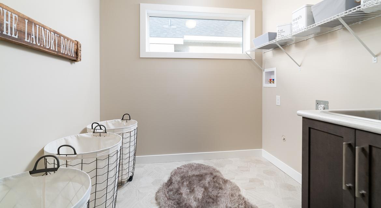 13. Second Floor Laundry - 380 Windflower Road The Biscayne DG 14 C Broadview Homes Winnipeg