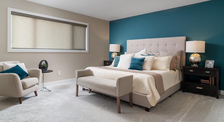 15. Master Bedroom - 380 Windflower Road The Biscayne DG 14 C Broadview Homes Winnipeg