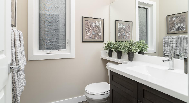 4. Powder Room - 380 Windflower Road The Biscayne DG 14 C Broadview Homes Winnipeg