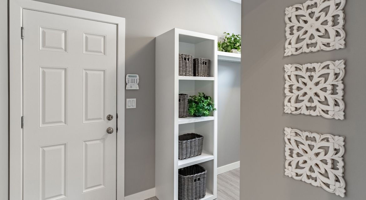 4. Mudroom - 4 Merkel Manza The Dawson DG 11 Broadview Homes Winnipeg