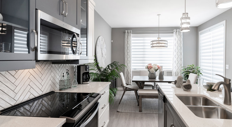 9. Kitchen - 4 Merkel Manza The Dawson DG 11 Broadview Homes Winnipeg