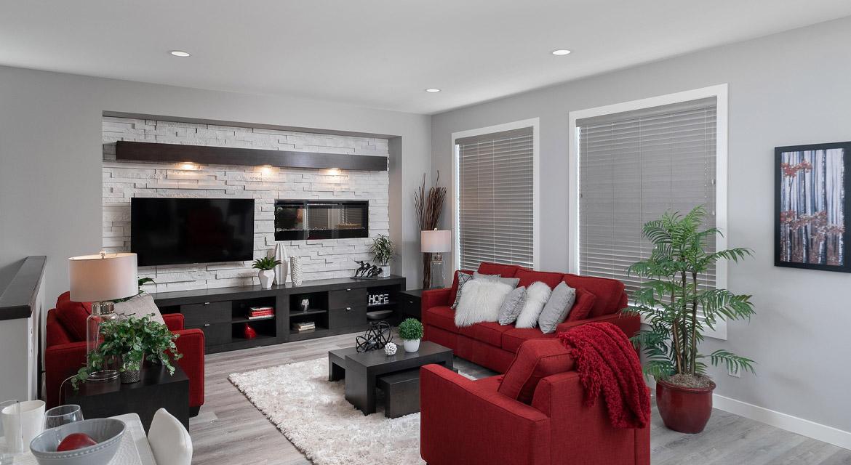 6. Great Room - 464 Maconnell The Pritchard DG 50 B Broadview Homes Winnipeg