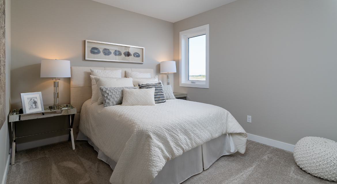15. Secondary Bedroom - 5 Orion The Atwood DG 45 A Broadview Homes Winnipeg