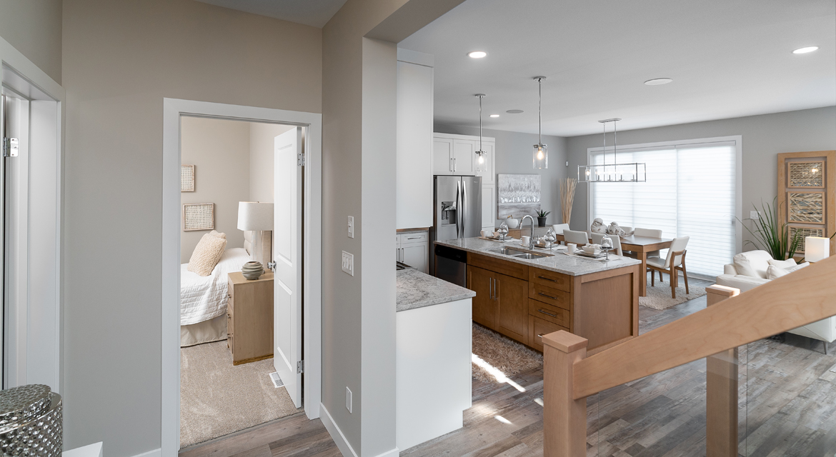 3. Foyer - 5 Orion The Atwood DG 45 A Broadview Homes Winnipeg