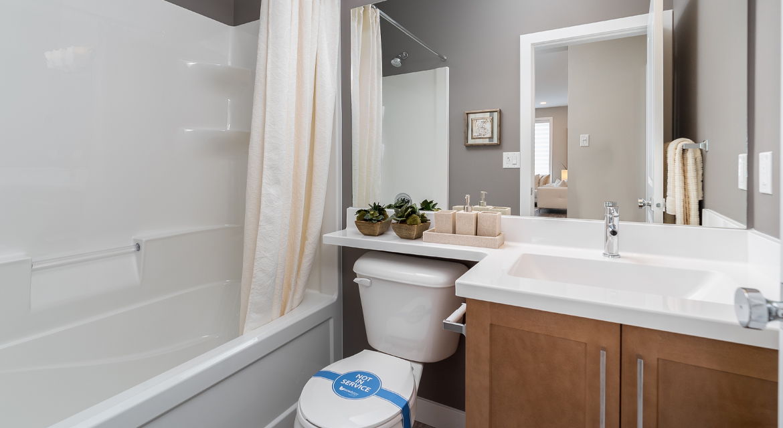 4. Main Floor Bathroom - 5 Orion The Atwood DG 45 A Broadview Homes Winnipeg