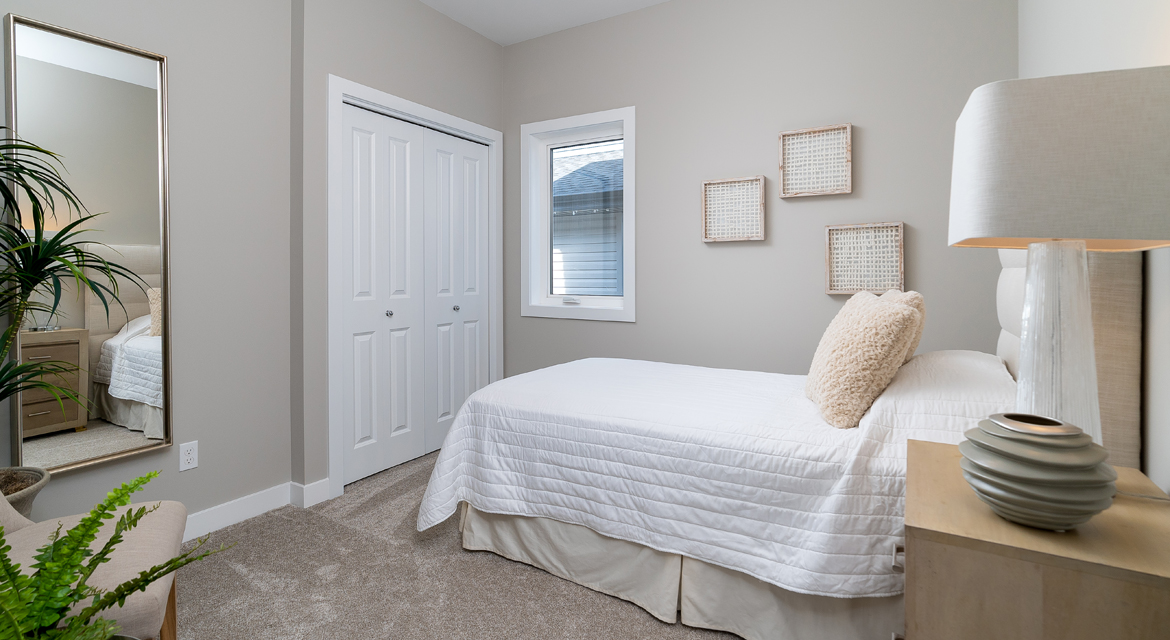 5. Guest Bedroom - 5 Orion The Atwood DG 45 A Broadview Homes Winnipeg