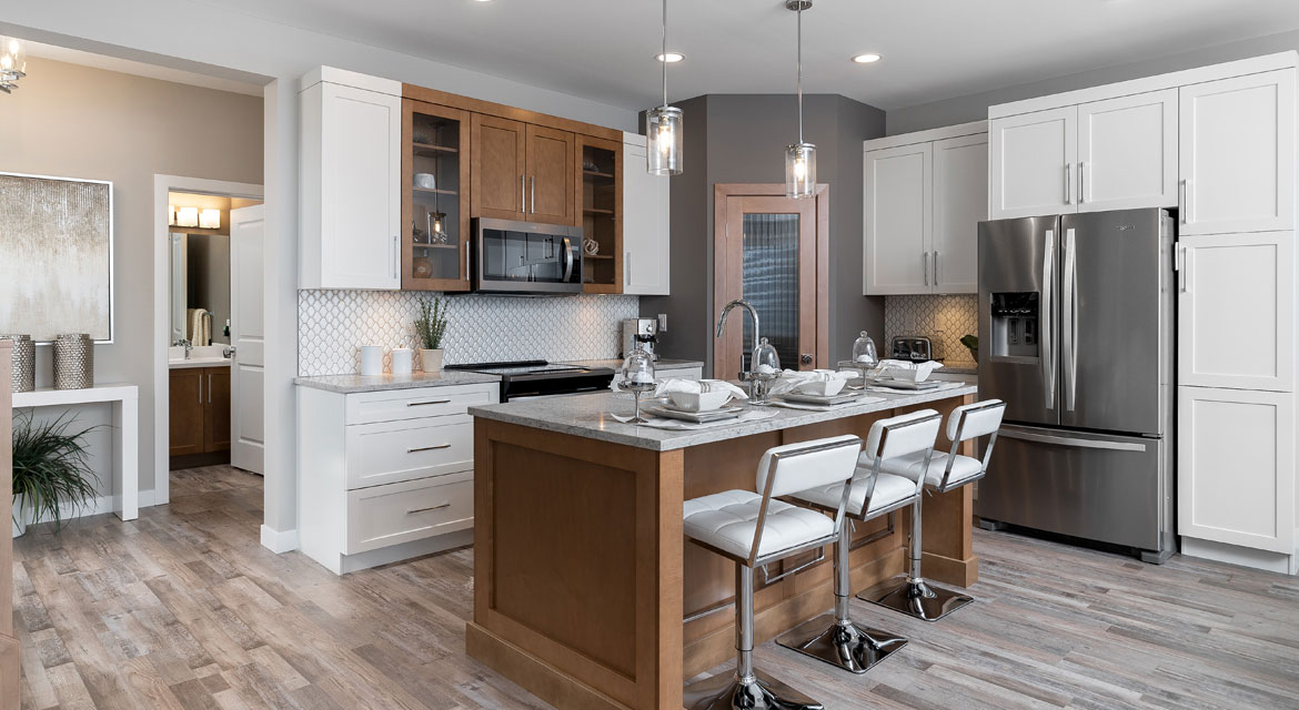 6. Kitchen - 5 Orion The Atwood DG 45 A Broadview Homes Winnipeg
