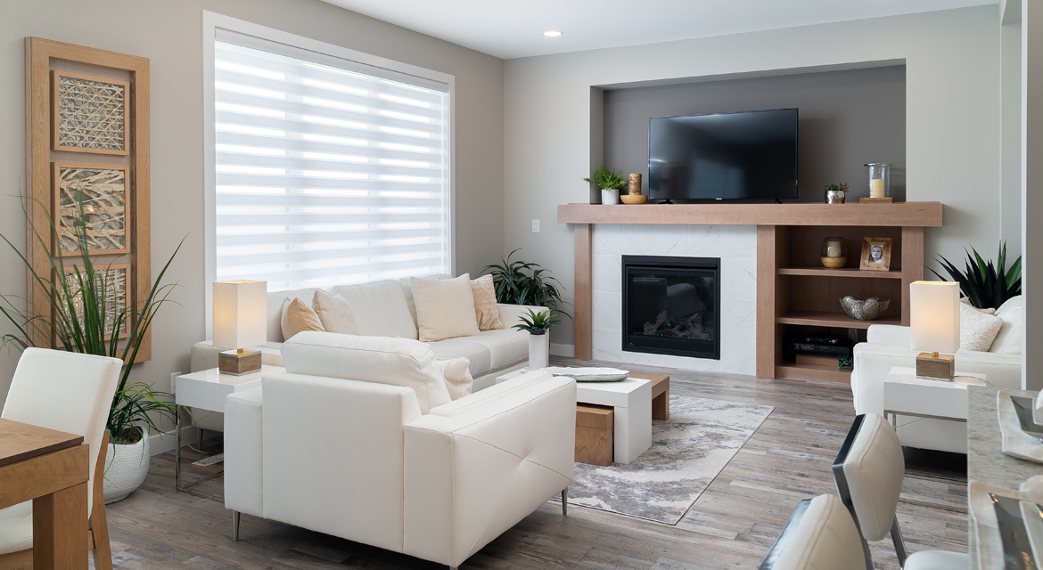7. Great Room - 5 Orion The Atwood DG 45 A Broadview Homes Winnipeg
