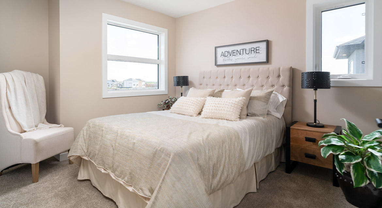 12. Secondary Bedroom - 6 McCrindle Bay - DG 16 G The Monitcello Broadview Homes Winnipeg