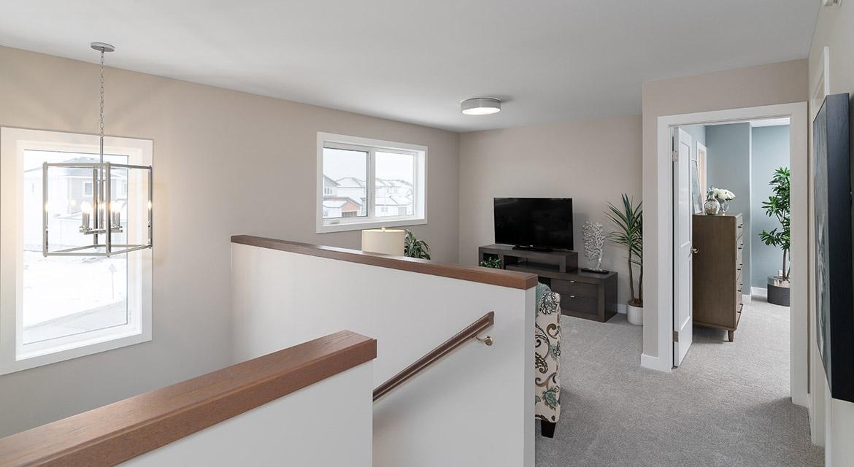 16. Second Floor Loft - 63 Crestmont Drive The Harlow DG 17 A Broadview Homes Winnipeg
