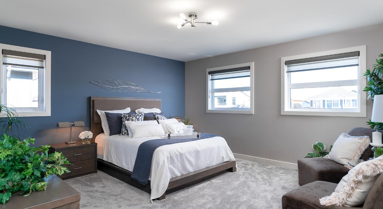 14. Master Bedroom - 84 Crestmont The Preston DG 10 A Broadview Homes Winnipeg