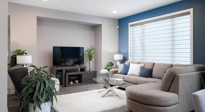 9. Great Room - 84 Crestmont The Preston DG 10 A Broadview Homes Winnipeg