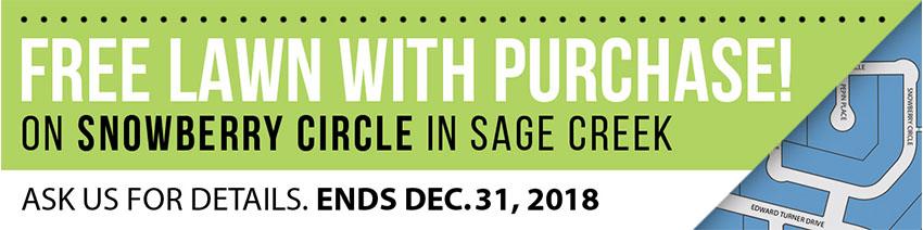 Sage Creek Sod Extended