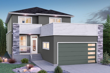 DG 16 H Monticello Elevation Broadview Homes