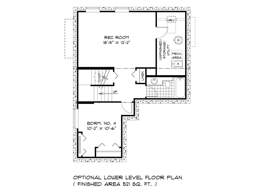 Opt Lower Level Floor - DG 14 Biscayne Broadview