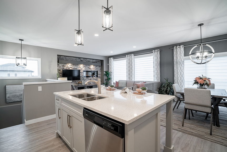 4. 232 Petryk - Kitchen - Broadview Homes The Pritchard DG 50 A
