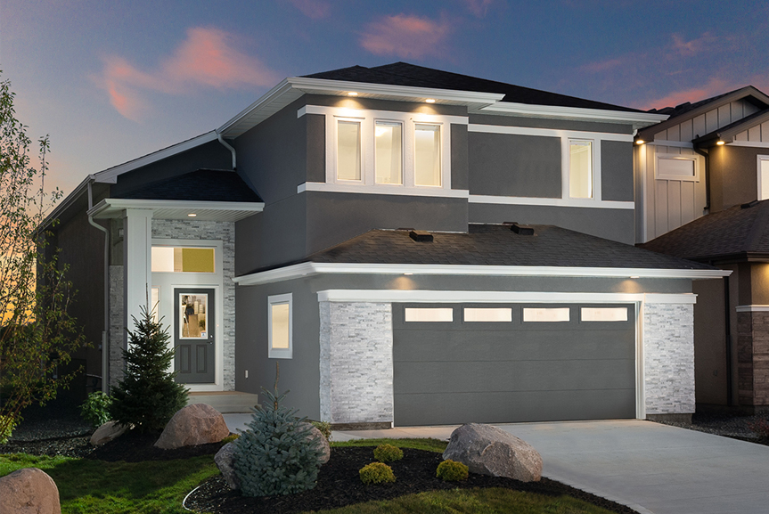1. 323 Tanager Trail - Broadview Homes The Highview DG 43 A Twilight