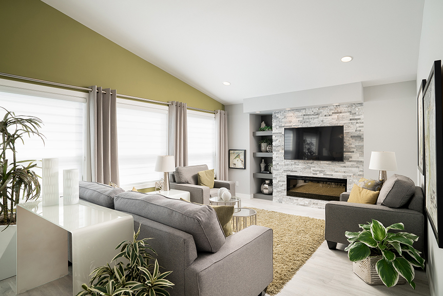 8. 323 Tanager Trail - Great Room Broadview Homes The Highview DG 43 A