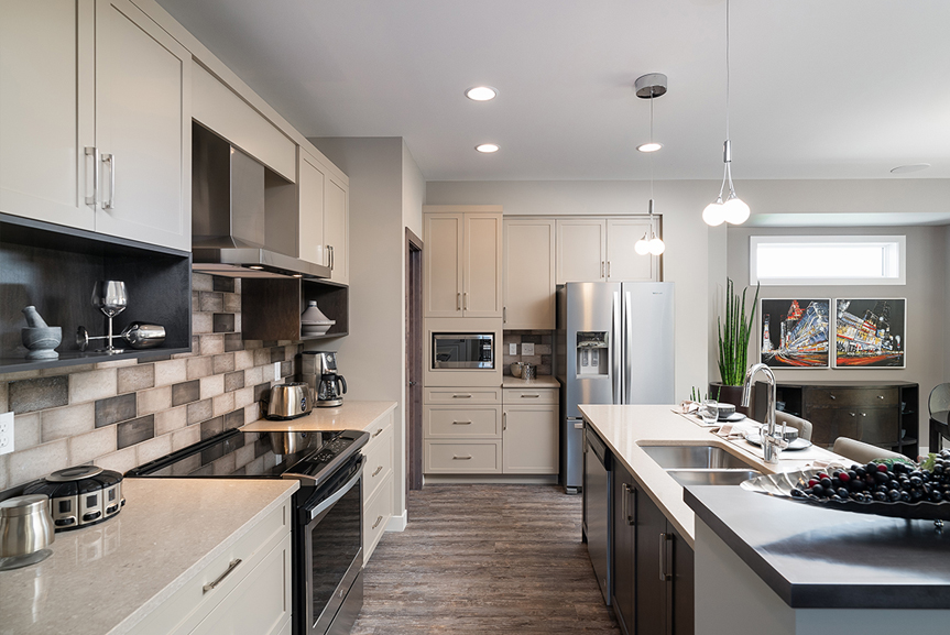 3. 335 Tanager Trail - Kitchen Broadview Homes The Highview DG 44 E Twilight