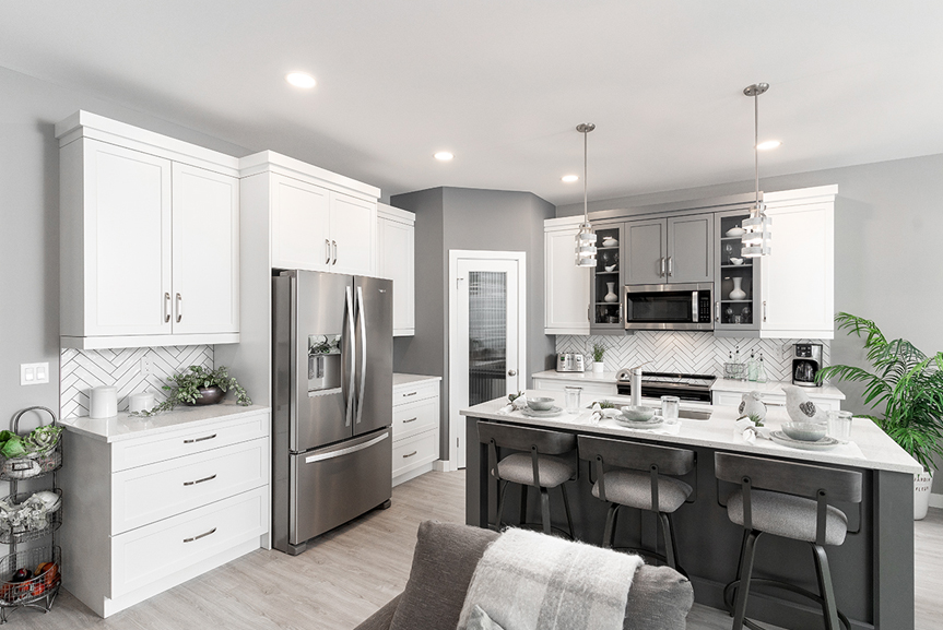 10. Kitchen - 4 Merkel Manza The Dawson Broadview Homes Winnipeg