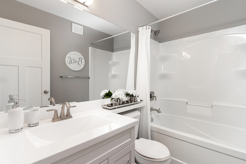 14. Main Bathroom - 4 Merkel Manza The Dawson Broadview Homes Winnipeg