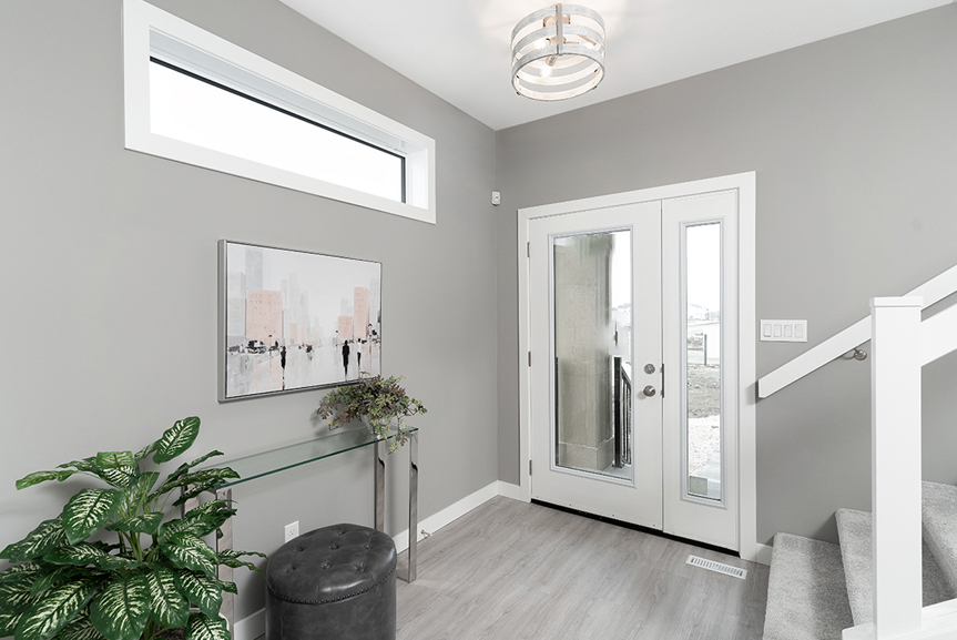 2. Foyer - 4 Merkel Manza The Dawson Broadview Homes Winnipeg