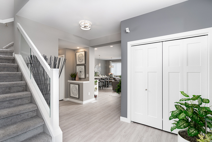 3. Foyer - 4 Merkel Manza The Dawson Broadview Homes Winnipeg