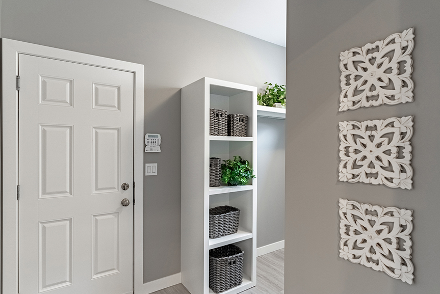 4. Mudroom - 4 Merkel Manza The Dawson Broadview Homes Winnipeg