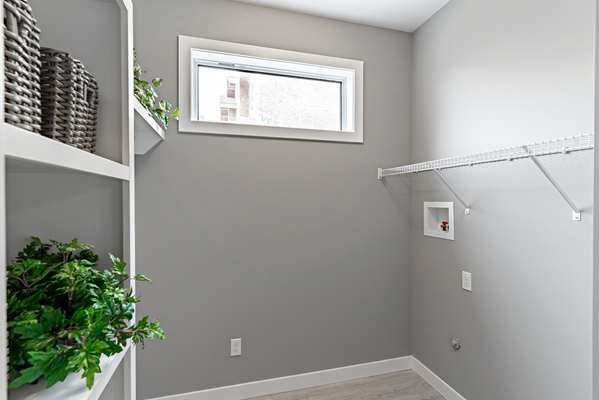 5. Mudroom - 4 Merkel Manza The Dawson Broadview Homes Winnipeg
