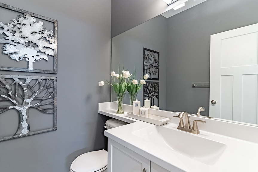 6. Powder Room - 4 Merkel Manza The Dawson Broadview Homes Winnipeg