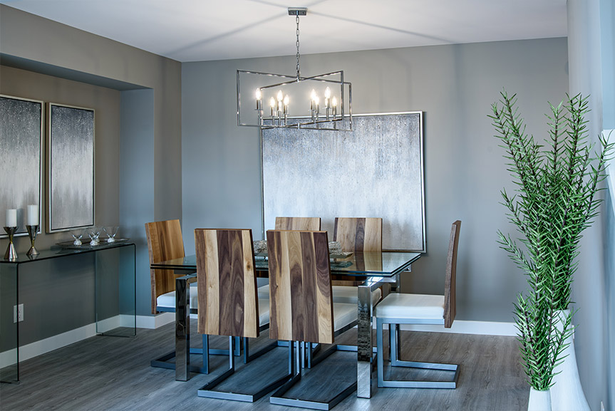Dining Room 35 Skyline Broadview Homes