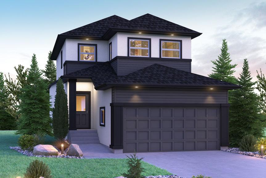 DG 10 A Exterior Elevation Preston Broadview Homes