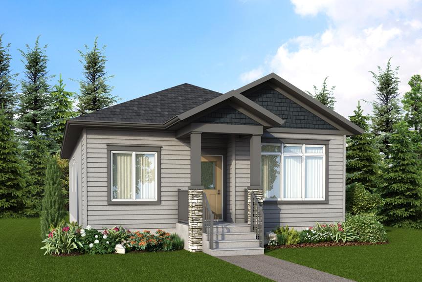 RG 61 A Elevation Broadview Homes