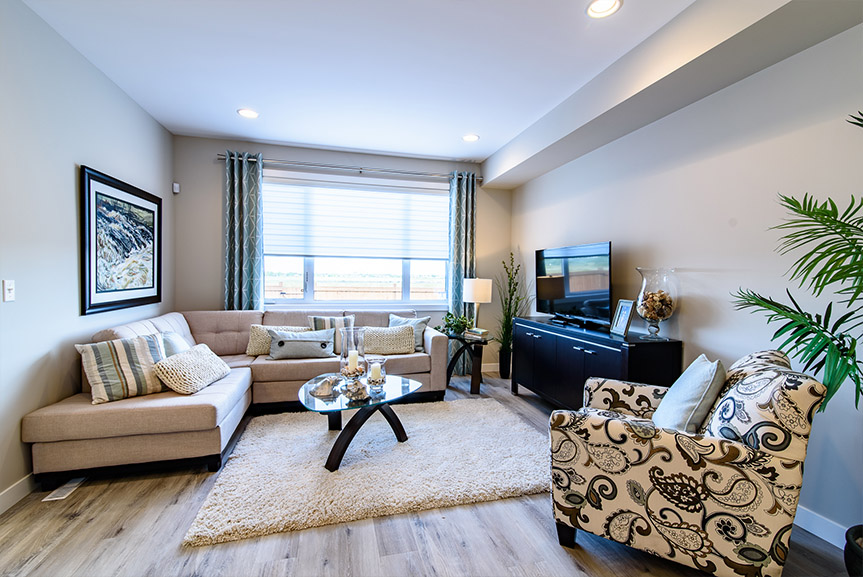 Great Room 115 Phoenix Broadview Homes