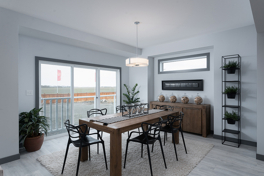 6. Eating Area - 221 Petryk Terrace Broadview Homes DG 15 A
