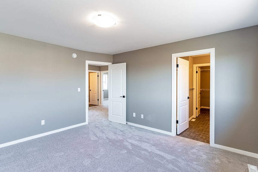 18. Master Bedroom - 7 Fieldhouse The Avalon DG 15 A Broadview Homes Winnipeg
